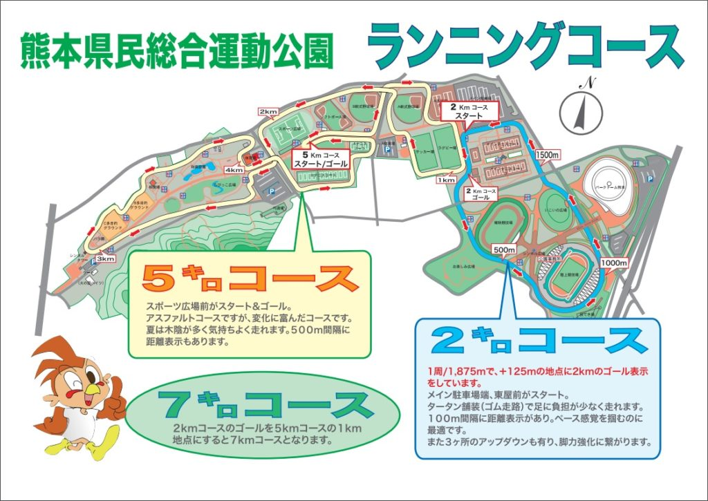 熊本県民総合運動公園をランニングした感想